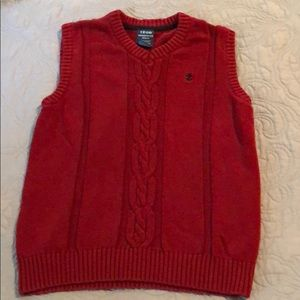 Boys Izod sweater vest